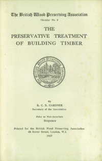 BWPA Circular 2 – The Preservative Treatment of Building Timber : Page 3