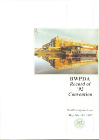 BWPDA Record of 1992 Convention : Page 1