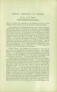 Journal of the British Wood Preserving Association Vol I : Page 67