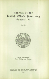 Journal of the British Wood Preserving Association Vol II : Page 19