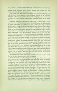 Journal of the British Wood Preserving Association Vol IV : Page 122