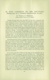 Record of the 1952 Annual Convention of the British Wood Preserving Association : Page 119