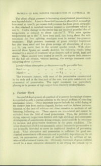 Record of the 1952 Annual Convention of the British Wood Preserving Association : Page 191