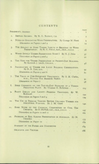 Record of the 1952 Annual Convention of the British Wood Preserving Association : Page 207