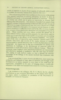 Record of the 1952 Annual Convention of the British Wood Preserving Association : Page 38