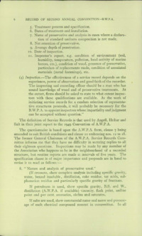 Record of the 1952 Annual Convention of the British Wood Preserving Association : Page 8