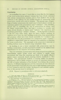 Record of the 1952 Annual Convention of the British Wood Preserving Association : Page 82