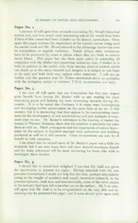 Record of the 1953 Annual Convention of the British Wood Preserving Association : Page 157