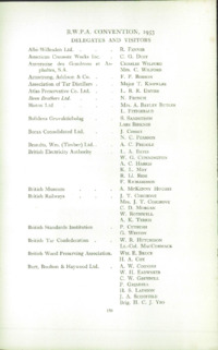 Record of the 1953 Annual Convention of the British Wood Preserving Association : Page 162