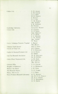 Record of the 1953 Annual Convention of the British Wood Preserving Association : Page 163