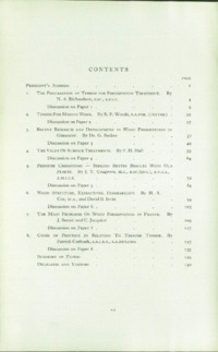 Record of the 1953 Annual Convention of the British Wood Preserving Association : Page 7