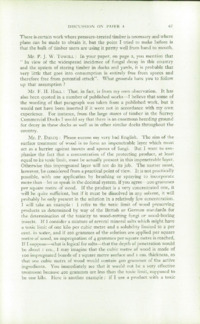 Record of the 1953 Annual Convention of the British Wood Preserving Association : Page 75