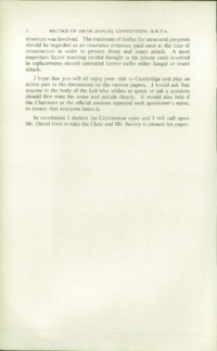 Record of the 1955 Annual Convention of the British Wood Preserving Association : Page 10