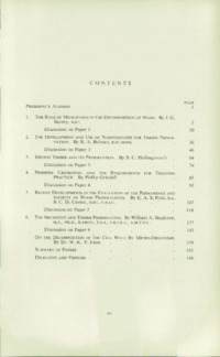 Record of the 1955 Annual Convention of the British Wood Preserving Association : Page 7