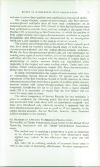 Record of the 1962 Annual Convention of the British Wood Preserving Association : Page 109