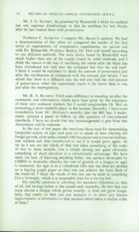 Record of the 1962 Annual Convention of the British Wood Preserving Association : Page 154