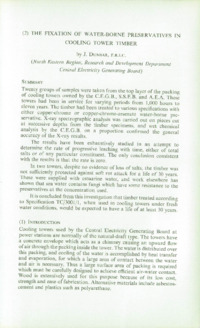 Record of the 1962 Annual Convention of the British Wood Preserving Association : Page 35