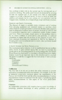 Record of the 1966 Annual Convention of the British Wood Preserving Association : Page 80