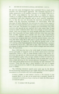 Record of the 1966 Annual Convention of the British Wood Preserving Association : Page 98