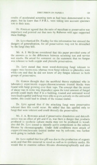 Record of the 1969 Annual Convention of the British Wood Preserving Association : Page 139