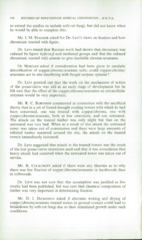 Record of the 1969 Annual Convention of the British Wood Preserving Association : Page 140