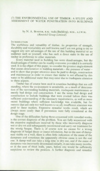 Record of the 1969 Annual Convention of the British Wood Preserving Association : Page 143