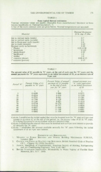 Record of the 1969 Annual Convention of the British Wood Preserving Association : Page 181