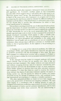 Record of the 1970 Annual Convention of the British Wood Preserving Association : Page 130