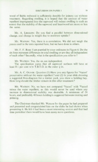 Record of the 1970 Annual Convention of the British Wood Preserving Association : Page 89
