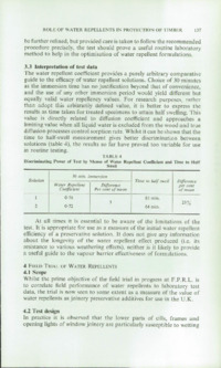 Record of the 1971 Annual Convention of the British Wood Preserving Association : Page 147