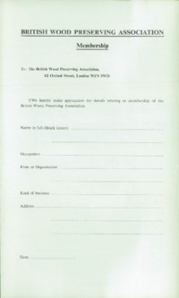 Record of the 1971 Annual Convention of the British Wood Preserving Association : Page 7