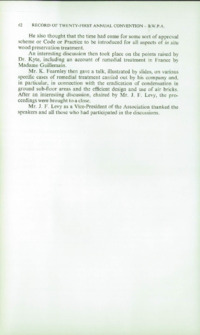 Record of the 1971 Annual Convention of the British Wood Preserving Association : Page 72