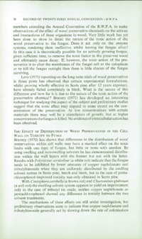 Record of the 1971 Annual Convention of the British Wood Preserving Association : Page 80
