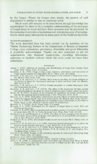 Record of the 1971 Annual Convention of the British Wood Preserving Association : Page 81
