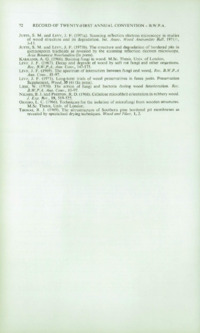 Record of the 1971 Annual Convention of the British Wood Preserving Association : Page 82