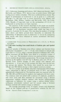 Record of the 1971 Annual Convention of the British Wood Preserving Association : Page 88