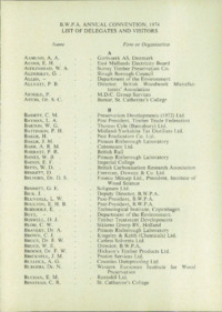 Record of the 1974 Annual Convention of the British Wood Preserving Association : Page 113