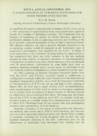 Record of the 1974 Annual Convention of the British Wood Preserving Association : Page 79