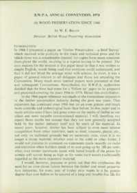 Record of the 1974 Annual Convention of the British Wood Preserving Association : Page 95