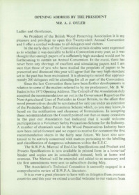 Record of the 1976 Annual Convention of the British Wood Preserving Association : Page 9