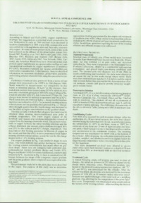 Record of the 1988 Annual Convention of the British Wood Preserving Association : Page 11