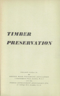 Timber Preservation : Page 3