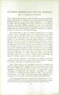 Record of the 1956 Annual Convention of the British Wood Preserving Association : Page 52