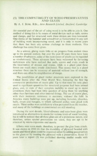 Record of the 1957 Annual Convention of the British Wood Preserving Association : Page 122
