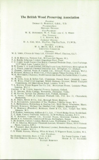 Record of the 1957 Annual Convention of the British Wood Preserving Association : Page 3
