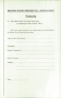 Record of the 1957 Annual Convention of the British Wood Preserving Association : Page 5