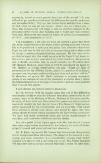 Record of the 1957 Annual Convention of the British Wood Preserving Association : Page 56