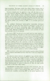 Record of the 1958 Annual Convention of the British Wood Preserving Association : Page 109
