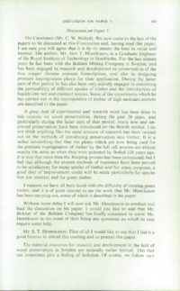 Record of the 1958 Annual Convention of the British Wood Preserving Association : Page 179