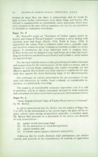 Record of the 1958 Annual Convention of the British Wood Preserving Association : Page 192